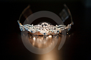 Diadem On The Table Royalty Free Stock Image - Image: 17384246