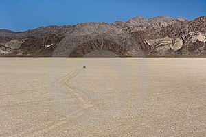 Death Valley Race Track Royalty Free Stock Photography - Image: 17384247
