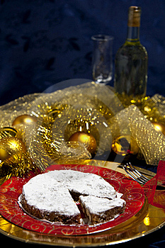 Gingerbread And White Wine Royalty Free Stock Images - Image: 17384319