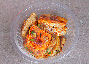 Fried Bean Curd Stock Image - Image: 17384331
