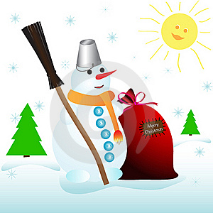 Snowman Stock Images - Image: 17390154