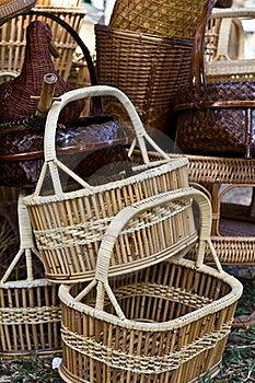 Wickerwork Trade, Stock Image - Image: 17390181