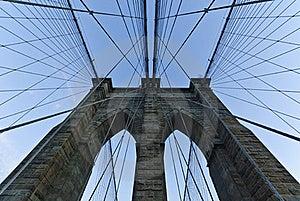Brooklyn Bridge, New York City Royalty Free Stock Photos - Image: 17393798