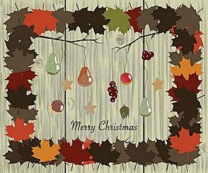 Christmas Garland Royalty Free Stock Image - Image: 17395986