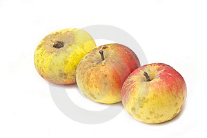 Three Apples Royalty Free Stock Photography - Image: 17396217