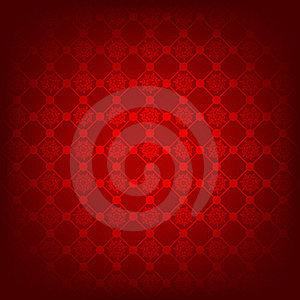 Seamless Deep Red Christmas Texture Pattern. EPS 8 Royalty Free Stock Images - Image: 17396329