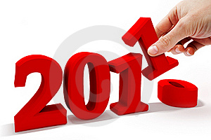 New Year 2011 Stock Photo - Image: 17399880