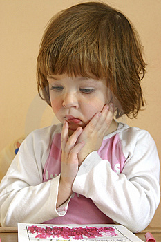 Little Worries Royalty Free Stock Photos - Image: 1741868