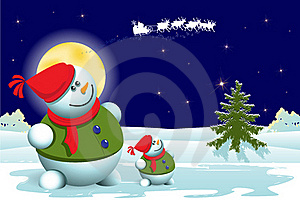 Snowman Stock Photos - Image: 17401093