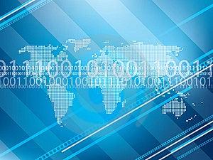 Technology Background  Royalty Free Stock Photo - Image: 17401465