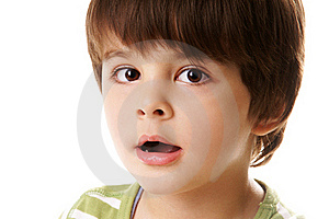Surprised Boy Royalty Free Stock Photo - Image: 17402595