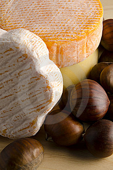 Cheese With Hazelnuts Stock Images - Image: 17402944