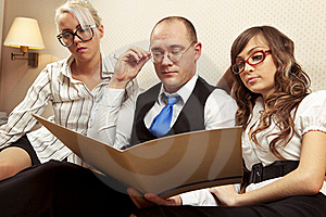 Confident Associates Royalty Free Stock Images - Image: 17405489