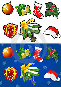 Christmas Collection Stock Photo - Image: 17405780