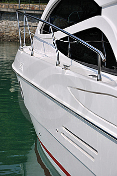 Yacht At Dock Royalty Free Stock Photo - Image: 17406065