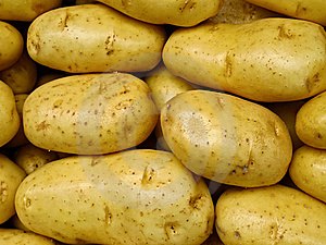 Fresh Yellow Market Potatoes Stock Photos - Image: 17406643