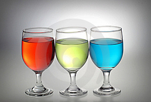 Red, Green, Blue Liquid Royalty Free Stock Photography - Image: 17408117