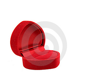 Empty Red Velvet Luxury Box For Jewel Royalty Free Stock Photo - Image: 17408295