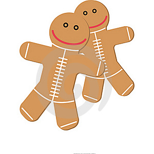 Ginger Cookies Royalty Free Stock Photos - Image: 17409108