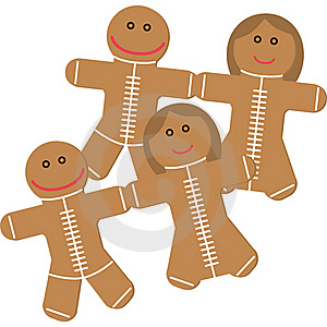 Ginger Cookies Royalty Free Stock Images - Image: 17409119