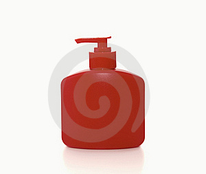 Bottle Of Liquid Soap Royalty Free Stock Photo - Image: 17412985