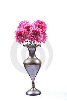 Guldaudi Flower Pot Royalty Free Stock Photography - Image: 17414527