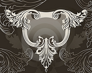 Revival Ornate Frame Background Royalty Free Stock Photo - Image: 17415875