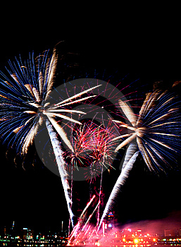 Beautiful Fireworks Royalty Free Stock Images - Image: 17417379