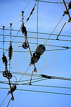 Power Lines 3 Stock Image - Image: 17418941