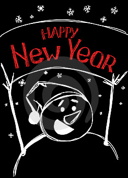 Happy New Year Royalty Free Stock Photos - Image: 17420868
