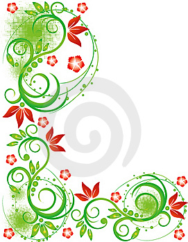 Abstract Flower Illustration Flower Spring Summer Stock Photography - Image: 17421492