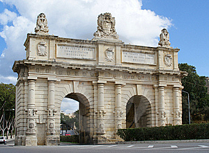 Porte Des Bombes Arch Stock Photos - Image: 17426303