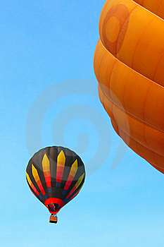 Colorful Hot Air Balloon Royalty Free Stock Image - Image: 17426806
