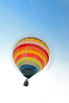 Colorful Hot Air Balloon Royalty Free Stock Image - Image: 17426936