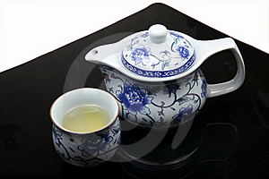 Chinese Tea Set Royalty Free Stock Images - Image: 17427469