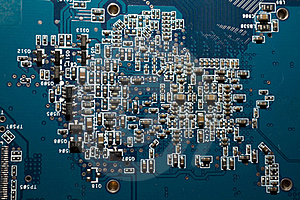 Computer Circuit Royalty Free Stock Photo - Image: 17427535