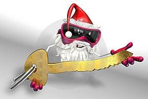Happy Santa Royalty Free Stock Photo - Image: 17430175