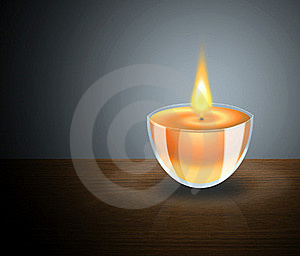 Candle Royalty Free Stock Photos - Image: 17430338
