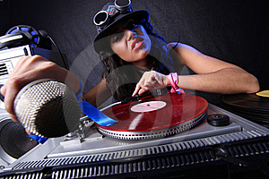 Cool DJ In Action Stock Images - Image: 17432074