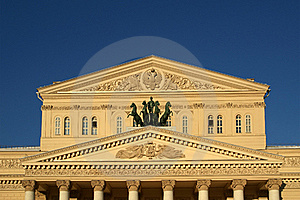 Bolshoi Theatre, Moscow, Russia Stock Images - Image: 17432894