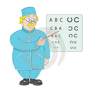 The Doctor The Ophthalmologist Stock Photos - Image: 17433053