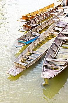 Boat In River Stock Photo - Image: 17434280