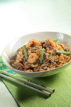 Fried Noodle Royalty Free Stock Photography - Image: 17434857