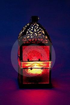 Burning Lantern Royalty Free Stock Photos - Image: 17439378