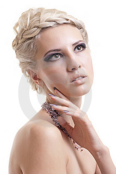 Photo Of  A Blond Lady Stock Photography - Image: 17439622