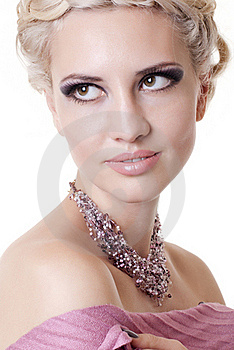 Photo Of  A Blond Lady Royalty Free Stock Photography - Image: 17439677