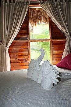 Palapas Interior In Playa Del Carmen Royalty Free Stock Photos - Image: 17447688