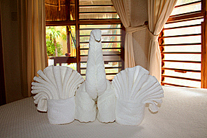 Palapas Interior In Playa Del Carmen Stock Image - Image: 17447701