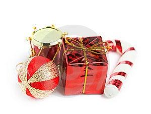 Festive Gift Box Stock Image - Image: 17448521