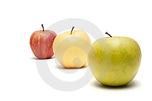 Row Of Apples Royalty Free Stock Photo - Image: 17449995